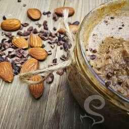 Ham Kakao Parçalı Badem Ezmesi