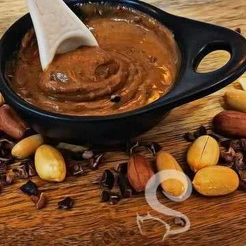 Ham Kakao Parçalı Fıstık Ezmesi